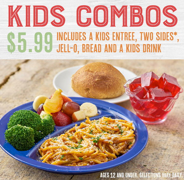 Kid's Menu Graphic